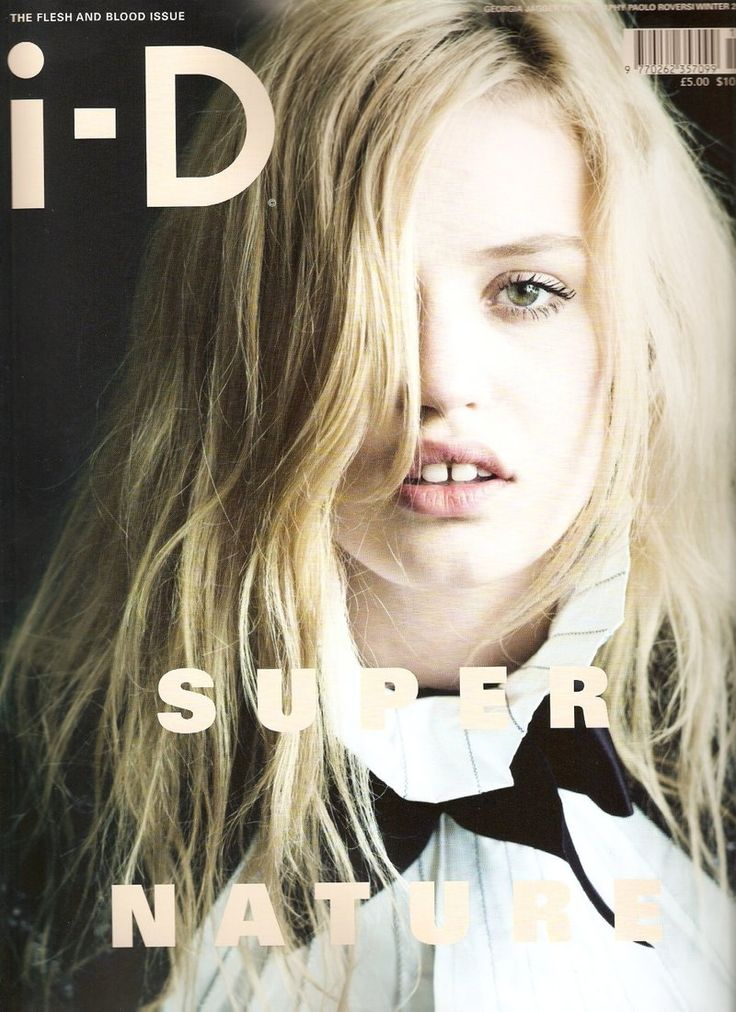 i-D Winter 2009 Cover (i-D Magazine)