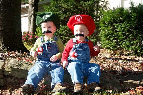 Love Love Love how the Mario and Luigi costumes came out.