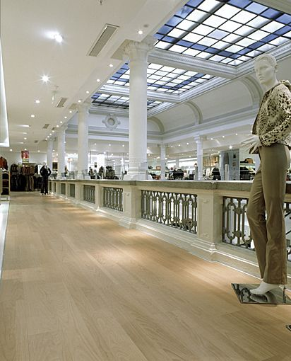 Parqwood - Rinascente Shopping Center - Monza (Milano) by PL spa (Abet Group)