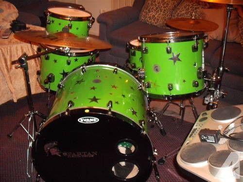 Spartan Custom Drums For Sale