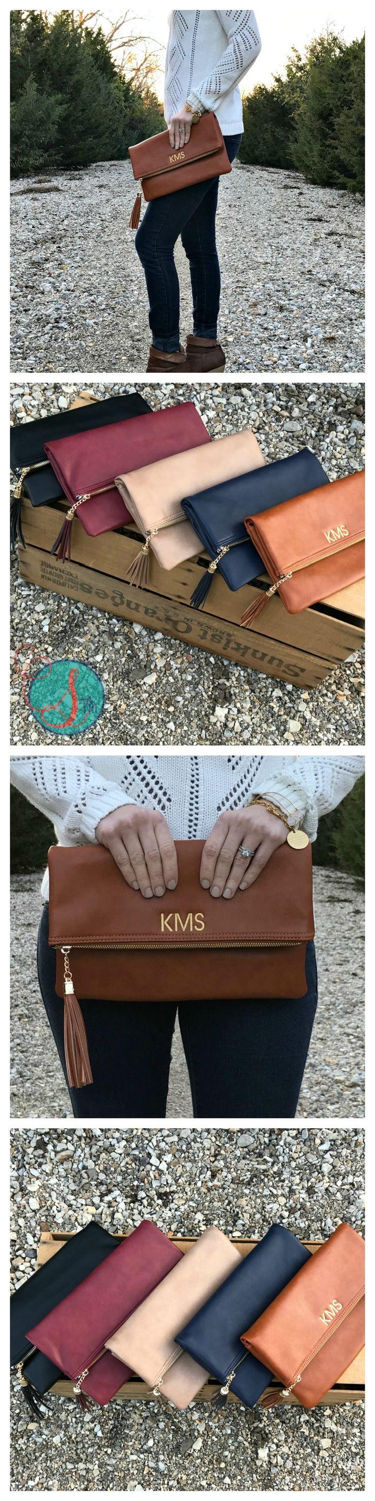 Monogram Purse | Monogram Clutch | Monogram Tassel Clutch | Christmas Gifts for Her | Monogram Christmas Gifts | Gifts for Her | Christmas Gifts for Mom | Gifts for Friends | Monogram Fashion