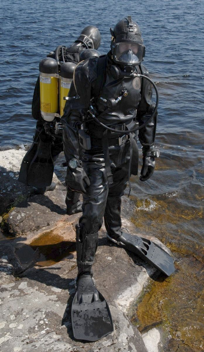 13 best images about rubber diver on pinterest posts for Scuba dive equipment