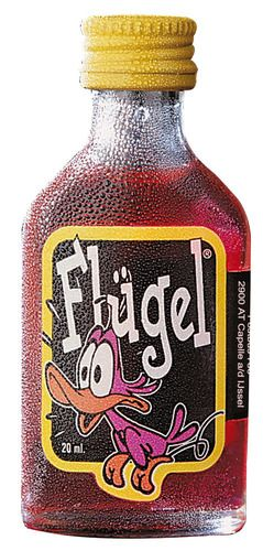 Flugel. I found this while looking for something else. It is alcohol. Anybody know something about it? PD