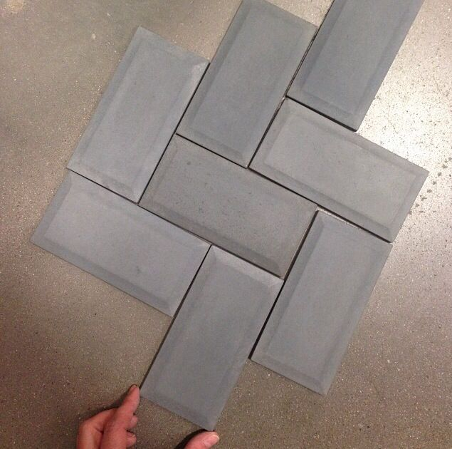 Concrete Subway Tiles From Lowes Yellow House Design Pinterest Creative Hunt 39 S And