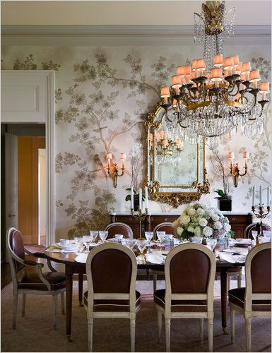 Dining room | Alexa Hampton via The New York Times