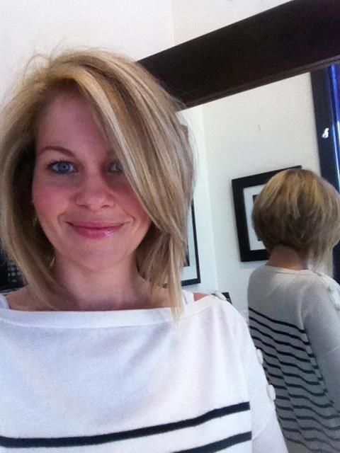 Candace Cameron Bure - new angled bob- absolutely love this!!!