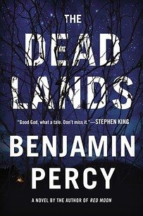 Benjamin Percy's The Dead Lands is a post-apocalyptic thriller set in a world devastated by both a super flu and nuclear fallout, where only a few humans remain in outposts like the Sanctuary, a community in what used to be St. Louis. When a rider arrives from beyond the Sanctuary's walls reporting of a thriving civilization to the west, a small group secretly sets out to find it and must fight to escape the Sanctuary.