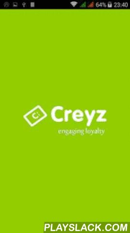 "Creyz Mobile  Android App - playslack.com , Introducing a more fun way of enjoying your favorite merchant stores with their deals.Creyz is a free mobile membership community for smart buyers,discount lovers that hooks up with your perks and privileges of your favorite local spots and shops.The whole idea of the program is to ""reward"" a consumer for frequent patronage from the favorite merchants"
