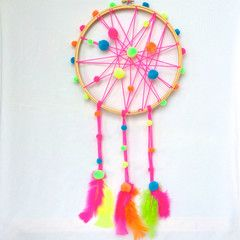 EASTER SCHOOL HOLIDAYS - CRAFT CENTRAL - HULA HOOP SIZED DREAMCATCHER+GOD'S EYE - Sydney - The School with Candy Sparkles at Megan Morton's The School