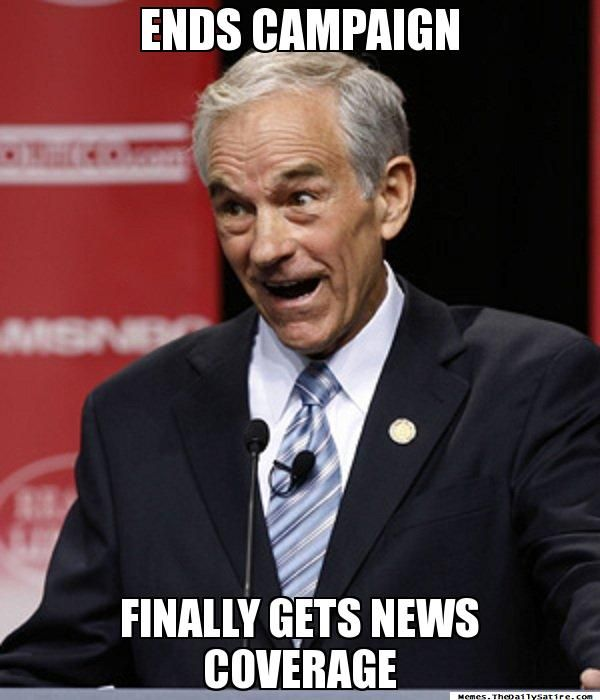 poor Ron Paul, so much potential...RP 2016