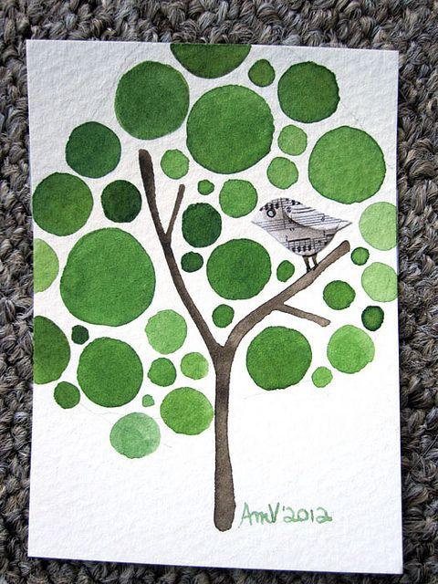 Tree Quilt --- Mom you have to make this one! Oh, it is perfect. ... so beautiful! Please?  :)