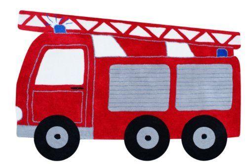 tapis d'enfants - Camion de pompiers en rouge - 100 x 140cm 80€-de livone.de, http://www.amazon.fr/dp/B004IDJ55Q/ref=cm_sw_r_pi_dp_o8ujtb1ZHH6DK