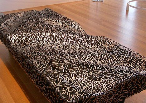 A bench made of nails, that looks comfortable! #welding #art