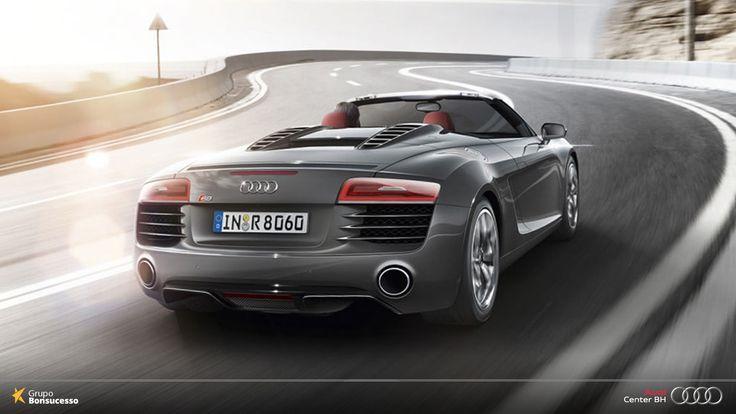 Se seu sonho sempre foi um conversível de altíssima performance, pense alto.  Pense Audi R8 Spyder!   #Audi #AudiLovers #Love #AudiAutomovel #AudiCenterBH #Car #AudicenterBH #Auto