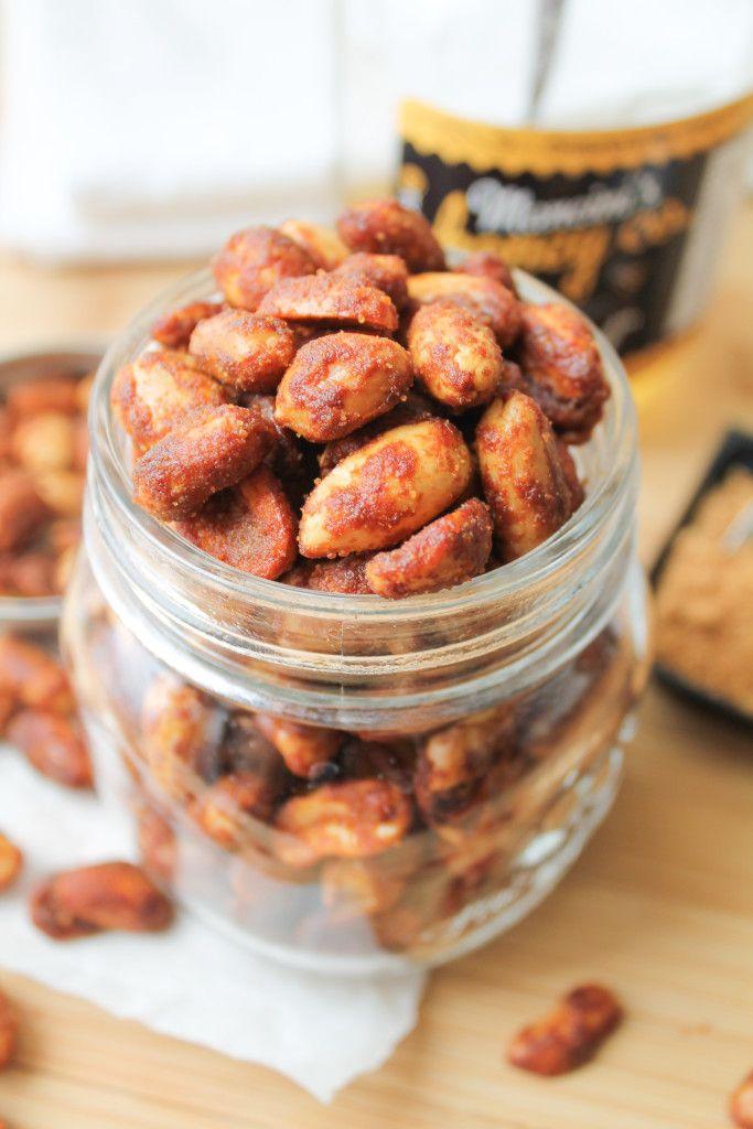 Honey & Coconut Oil Roasted Peanuts - Gluten free www.MadamPaloozaEmporium.com www.facebook.com/MadamPalooza