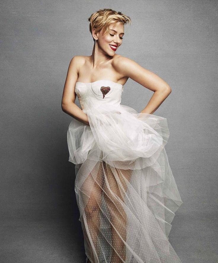 Photography:Tesh Styled by: Leslie Fremar Makeup: Frankie Boyd Model:Scarlett Johansson