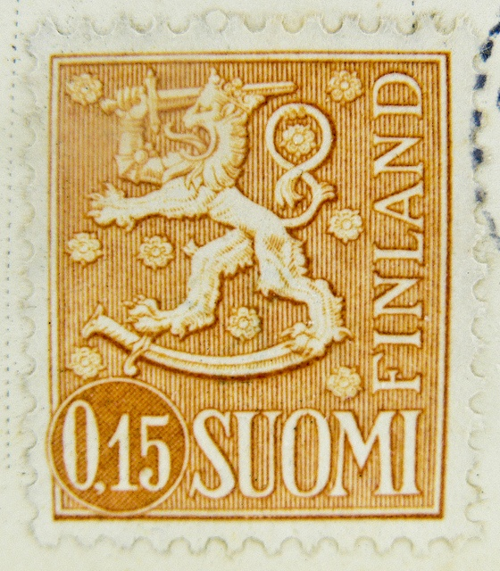 stamp Finland Finnland 0.15 M Suomi stamp timbre postage porto 0.15 armorial bearings hatchments francobollo selo Suomi mapka postzegel Briefmarken Finnland Finlandia marka | Flickr - Photo Sharing!