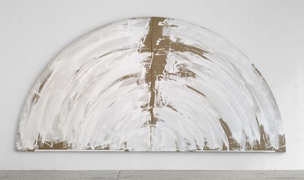 Gretchen Albrecht - Aotearoa - Cloud 2500x5000mm acrylic on Belgian linen