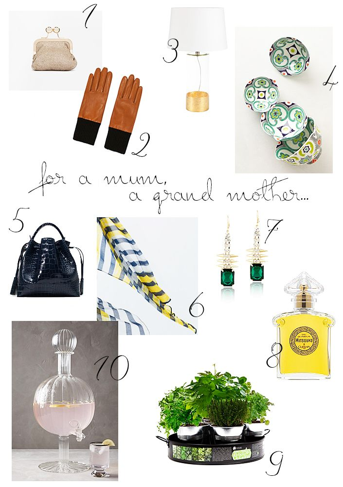Christmas gifts ideas for her. How to please your mum or your grandmother.