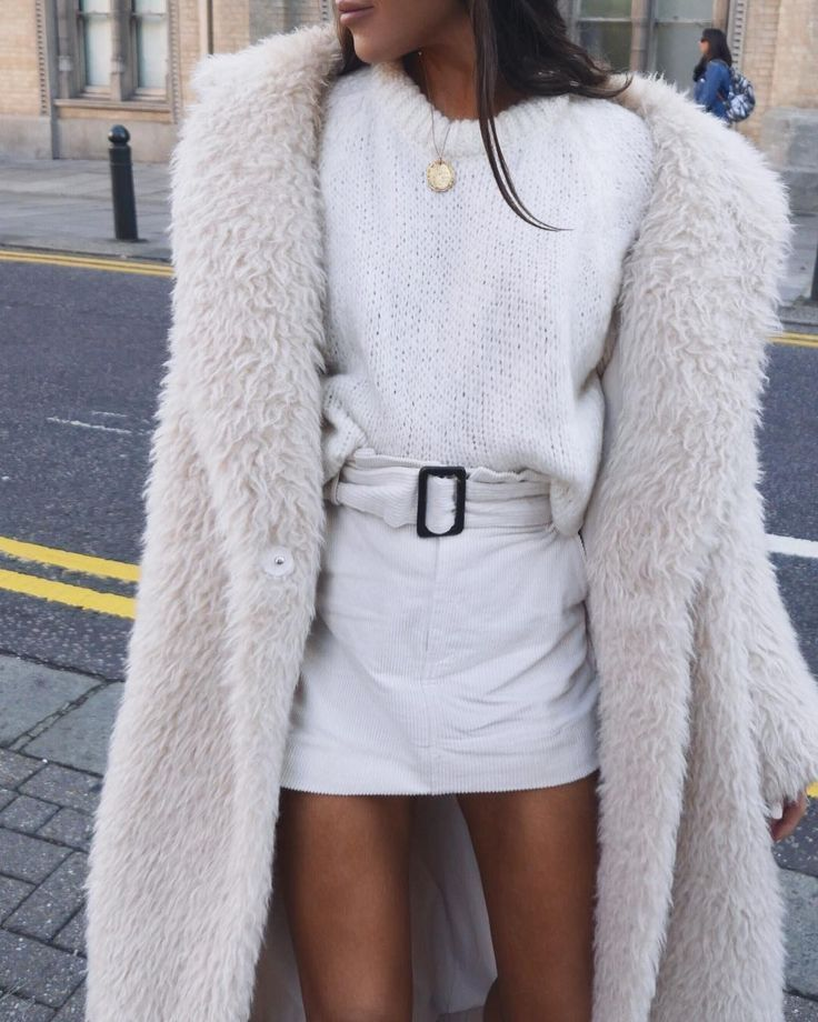 winter furry coats #style #ootd