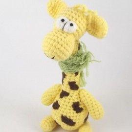 RAFFA - szydełkowa żyrafa
