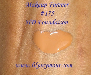 Swatches ~ Makeup Forever HD Foundation #175