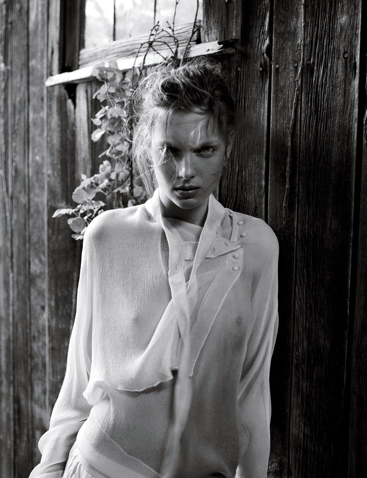 Delicacy by Patrick Demarchelier for interview