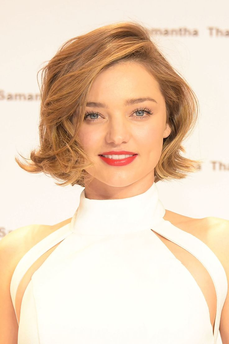 After years of having shoulder-length brunette hair, Miranda Kerr unveiled her shorter, lighter hairstyle in Tokyo earlier this month. The Australian-born model styled her fresh bob with soft waves swept over to one side. Discover how to recreate Miranda's natural-look highlights here. Getty Images - HarpersBAZAAR.co.uk