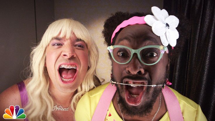"Jimmy and will.i.am's teenage-girl alter-egos (Sara and mir.i.am) rap about things they think are ""Ew!"" Download ""Ew!"" on iTunes: http://smarturl.it/EW ""Ew!""..."