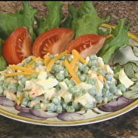 English Pea Salad  by Lady in the Kitchen