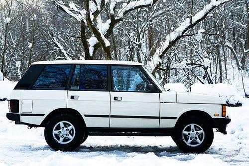 Range Rover by Matthew Brink