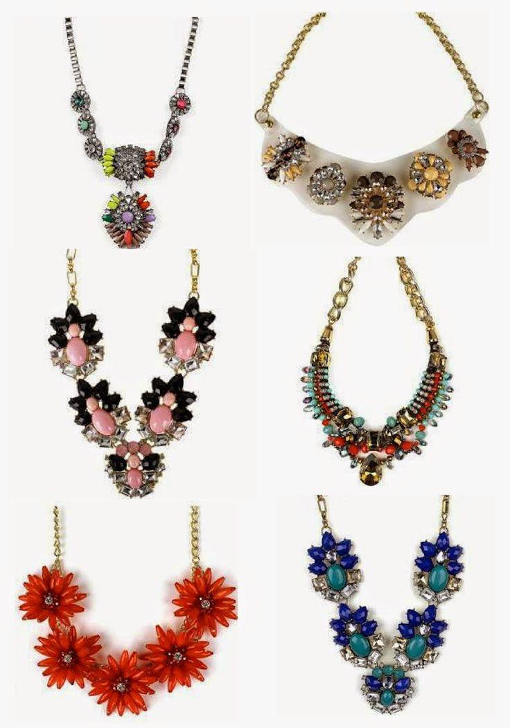 Fab Find:  Walmart Statement Necklaces