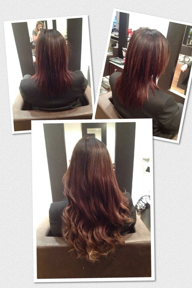 357 best hair extensions images on pinterest hair extensions piano shades and used to create this gorgeous colour combo 18 inch by hairy fairy hair extensions pmusecretfo Images