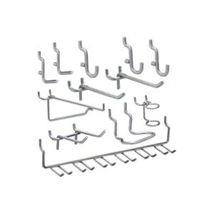 Stanley Tools 819841 51 Piece Pegboard Hook Assortment $7.64 to hang anything and everything