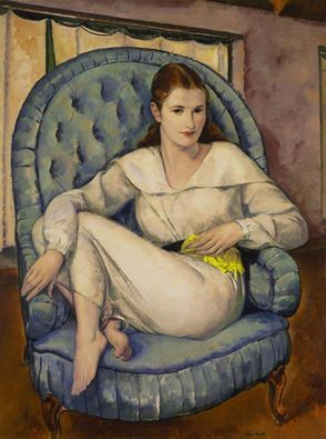 """Barbara"", by Leon Kroll"