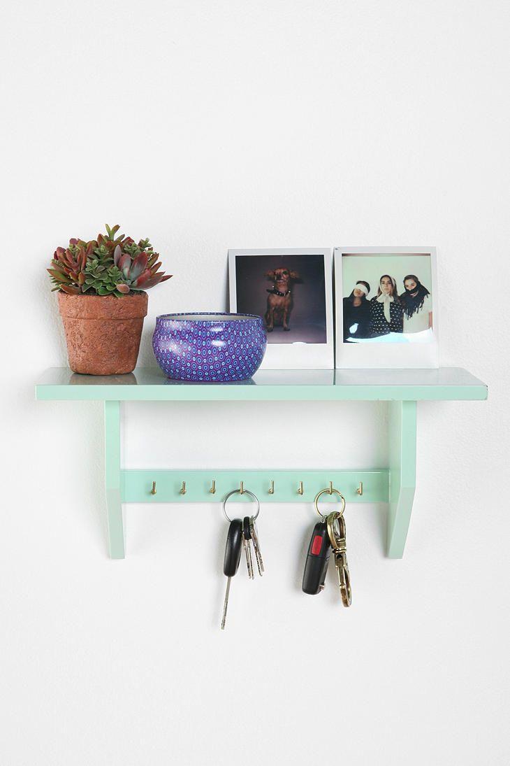 Plum & Bow Key Holder Shelf #urbanoutfitters #apartment #backtoschool
