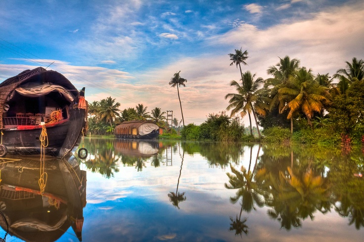 Kerala (India). 'Kerala's all about the  water: days of languorous drifting  on the backwaters around  Alappuzha (Alleppey), canoe  tours from Kollam and bambooraft  tours in Periyar Wildlife  Sanctuary.' http://www.lonelyplanet.com/india/kerala