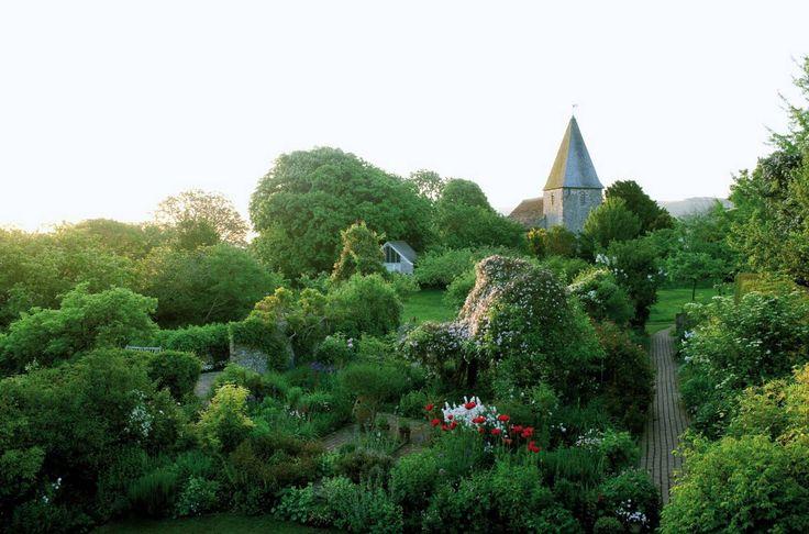 Virginia Woolf's garden at Monk's House