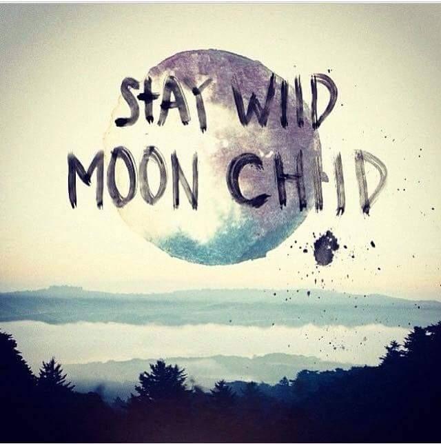 Words Sayings: Stay Wild Moon Child Saying | #Words #Sayings #MoonChild