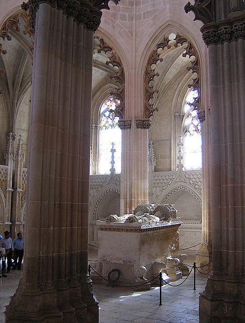 Mosteiro da Batalha, capela do fundador e panteão dos Avis