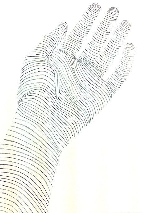 9 best images about Contour Drawings of Hands on Pinterest ...