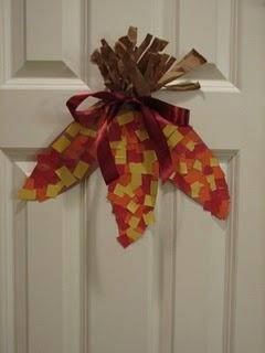 Thanksgiving Corn Craft.. SO CUTE!