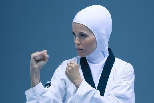 Muslim female - Tea kwon do