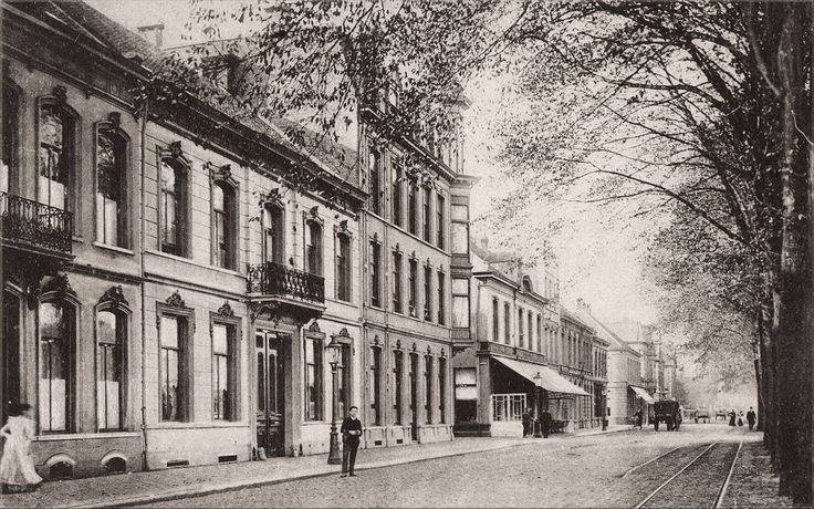 178 Spoorlaan, richting Noordhoek 1910 Rechts tramrail Tilburg, Goirle, Hilvarenbeek, Diessen