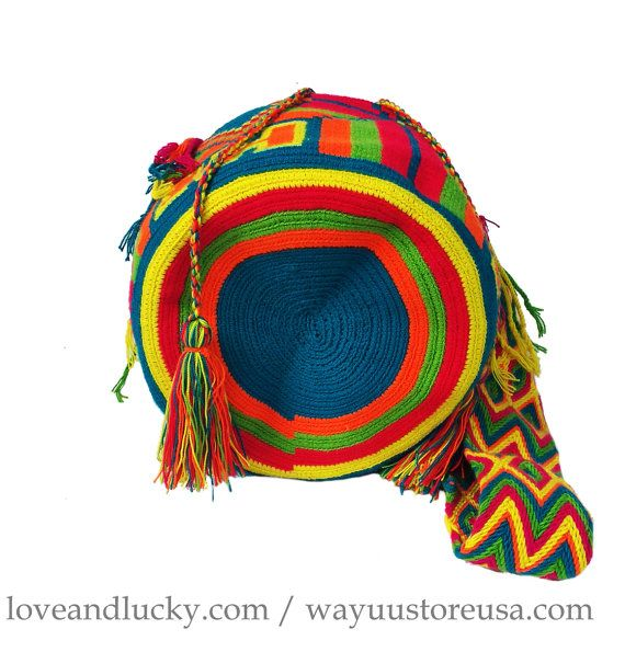 Boho Bag Tribal Bag Wayuu Bags Wayuu Mochilas by loveandlucky