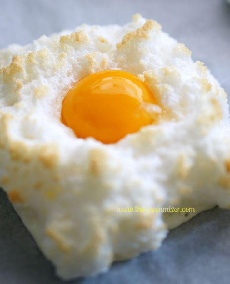 egg in a cloud