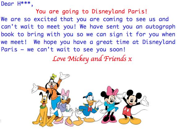 A Disney Themed Treasure Hunt Reveals Our Surprise Trip To Disneyland Paris Nothing But Love