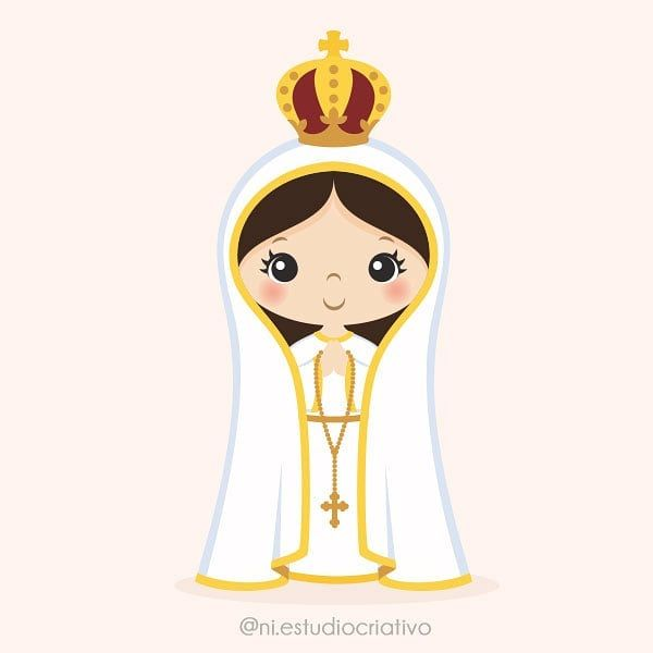 Nossa Senhora De Fatima Kit Digital Disponivel Na Loja Www