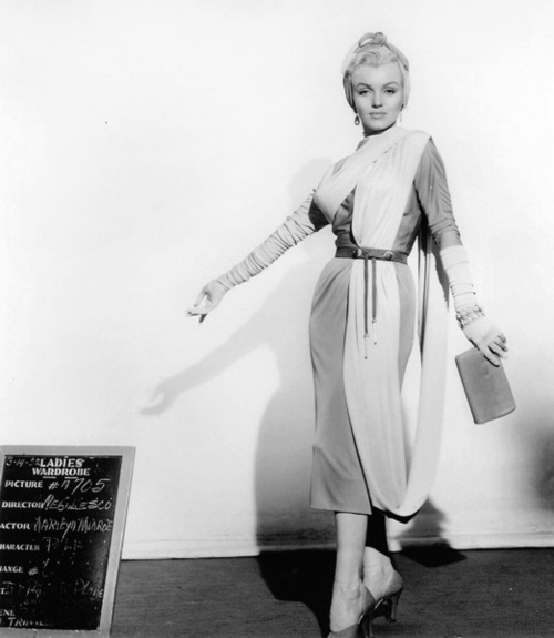 1953: Marilyn Monroe in a costume test for How to Marry a ...