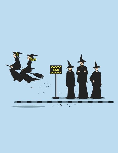 Take magic world taxi!!! Broomsticks!